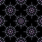 This simple repeating starburst background pattern has a retro feel and was made from our Thingie fractal. It would make a great giftwrap, wallpaper, fabric or textile design.